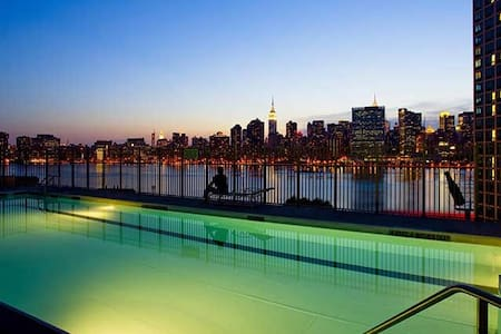 2#Manhattan View #Manhattan 1 Stop #For 1 Traveler - Queens - Apartment
