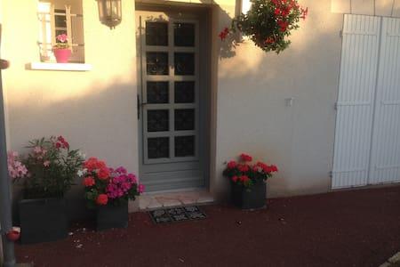 Chambre avec SDB privative dans maison avec jardin - Saint-Cyr-sur-Loire - Rumah