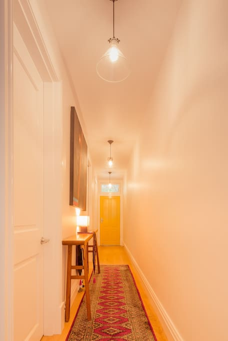 Hallway in the house