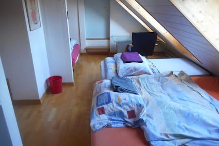 Zimmer mit maximal 5 Schlafplätzen - Madiswil - Hus