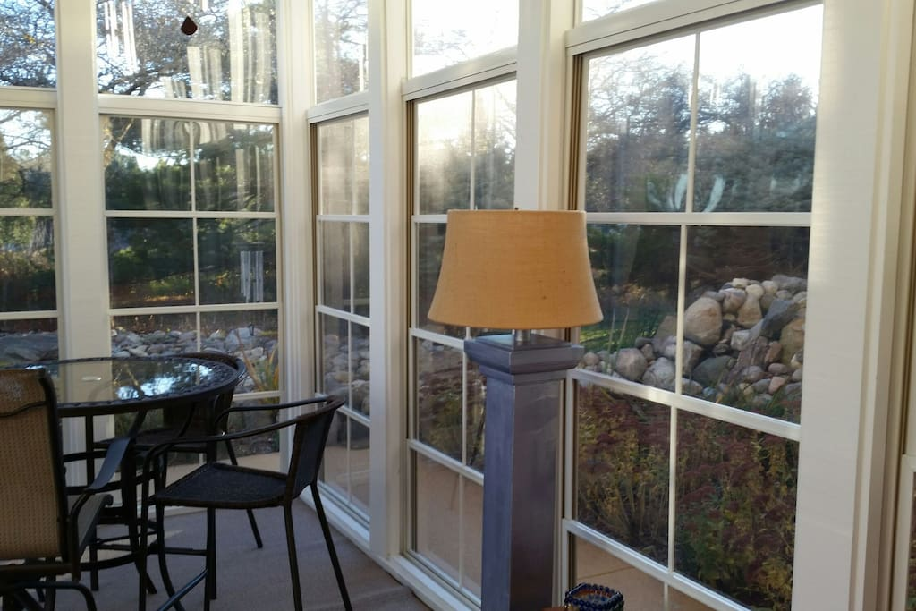 Beautiful Sunroom