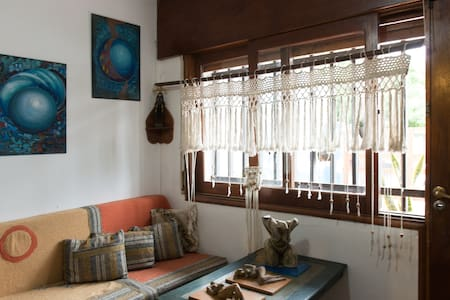 Habitación Privada muy cómoda c/ placard iluminada - Rumah