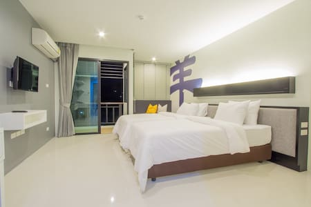 A Superior Room in Phuket + pool :) - Apartamento