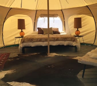 The Nomad (Sleeps 3) - Yucca Valley - Jurtta