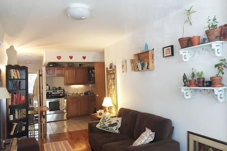 Cute 1 br, steps to train, BUSHWICK - Brooklyn - Apartment