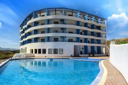 studio avec belle terrasse et vue sur piscine - Cabo Negro - Illa