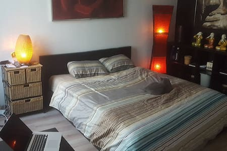 Beautiful modern apartment room in city centre. - Antwerpen - Appartement