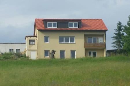 Ferienwohnung am Weichselberg in Burgambach - Scheinfeld - Apartment