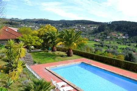 A villa with stunning views at Ponte de Lima - Villa