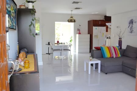 Zen Room at Tropical Spot Close to All - Miami - House