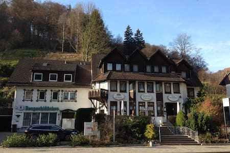Lovely Twin *Wifi* Apt for 7 pers, South-Harz! - Zorge - Apartamento