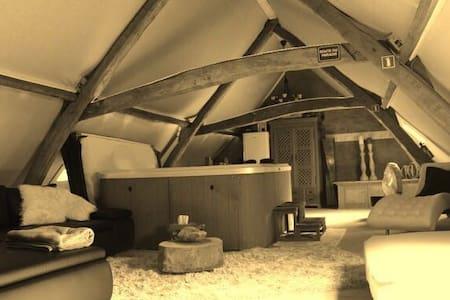 Rustgevende loft in groene omgeving - Loft