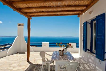 Mykonos home amazing view - Hus