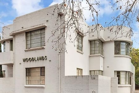 Art deco classic - walk to oval, convention centre - North Adelaide - Apartemen