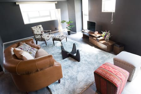 Luxury Shibuya 102㎡ Maisonnette Apt TV+Int+WiFi - Condominium