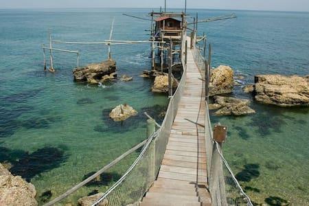Appartamento a 1,5km dal mare! Costa dei Trabocchi - Wohnung