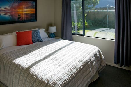 Comfy, quiet & close to Airport - Christchurch - Huis
