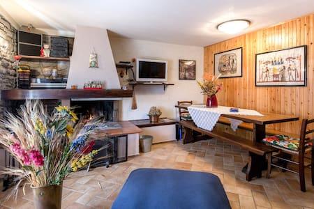 CASETTA CON GIARDINO IN MONTAGNA - Baragazza - Rumah