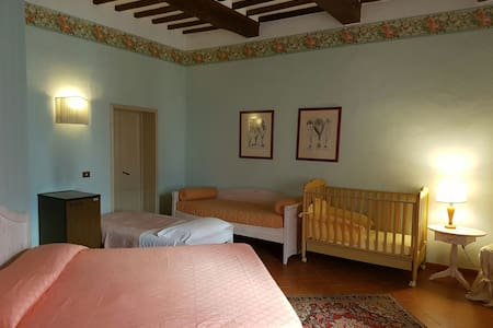 Dimora storica camera Verde - San Miniato