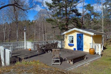 Top location guesthouse in exclusive Saltsjöbaden - Kabin
