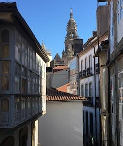 A unos pasos de la Catedral de Santiago - Apartamento