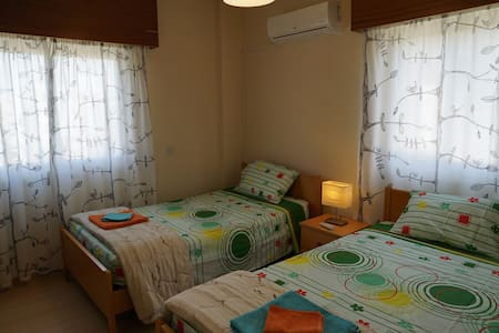 Room near Hilton (Twin beds) - 公寓