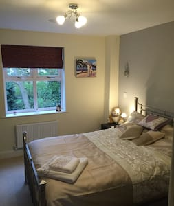 Knighton, Double Room With En-suite - House