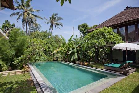 2BR Modern Traditional Pool Villa - North Kuta - Villa
