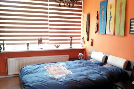 Colorful comfortable 2 person room - Eindhoven - Wohnung