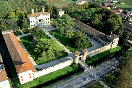 PALLADIAN PALACE CLOSE TO VENICE: Sleeps 22 - Roncade - Château