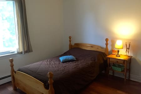 Bed and kitchen close to downtown - Daire