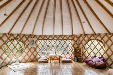Aniwaniwa Yurt Stay; Eco Village - Motueka Valley - Iurta