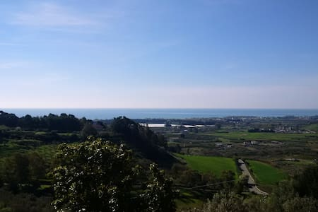 App/villa avec vue en colline - Sellia Marina - Apartamento