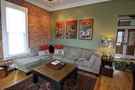 Renovated Historical Salida Loft Downtown Salida - サライダ - ロフト