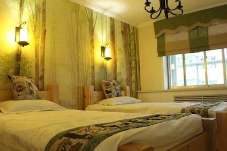 记忆·时光旅行客栈:住宿也必须有情怀,做有格调的民宿-沉睡森林间 - Appartement
