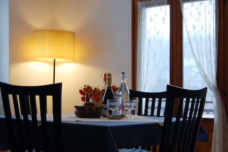 Appartamento nel cuore delle Alpi! - Apartamento