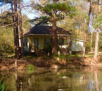 Glo's Lil Country Cottage with pond - Cabin