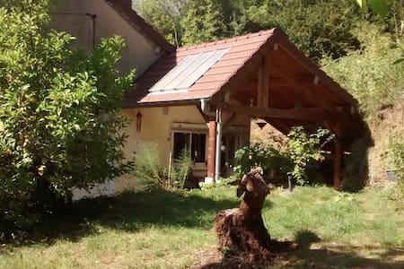 Chambre et Terrasse privées dans Maison au Calme - Ev