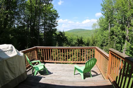 Amazing view, 5 miles from Mt. Snow, VAST access! - Talo