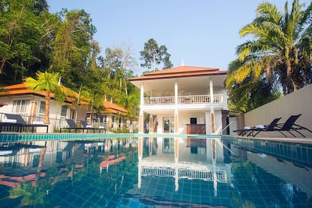 Private LUX FAMILY VILLAS with pool. House #1of15 - Tambon Ao Nang - Villa