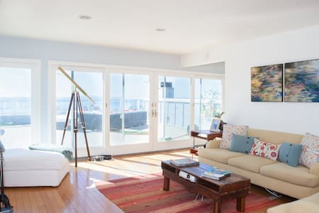 Located in heart of beautiful Summerland, this house has magnificent ocean views.  The 800 sq. ft. Deck is a perfect spot to relax while the sun goes down.  Enjoy the charm of downtown Summerland or take a 5 minute drive to Santa Barbara for some shopping and nightlife!
