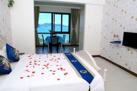 免费接机 高层一线看海公寓 - 아파트