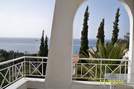 Panoramic seaview studio - Anavyssos