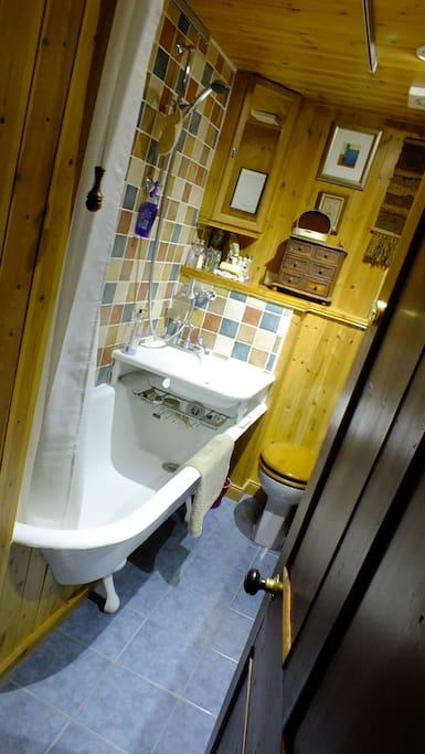 The Victorian shower/bath 1901