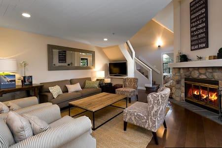 3 bedroom, quiet, spacious, tasteful, convenient. - Whistler - Radhus