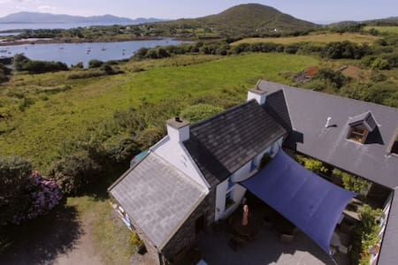 B &B Ring of Kerry Farmhouse Room - Castlecove - Bed & Breakfast