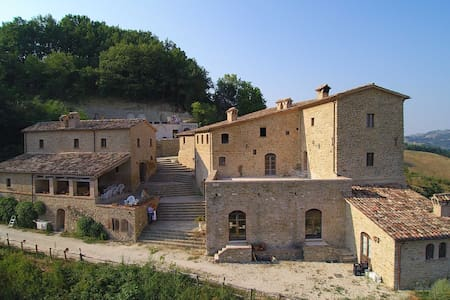 Medieval Romantic Room - Provincia di Pesaro e Urbino - Schloss