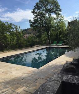Maison dans pinède avec piscine - House