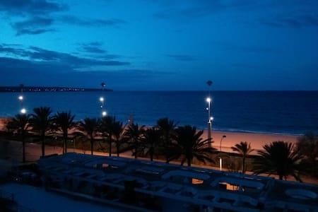 Ferienwohnung direkt am Strand - Apartamento