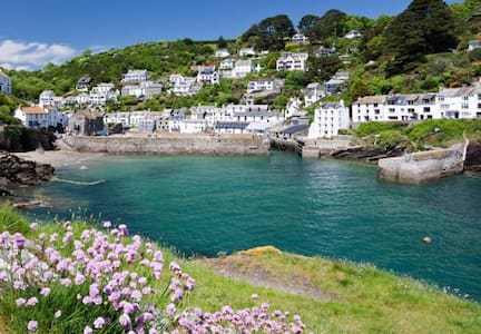 Charming, listed, seaside house, amazing location - Polperro - Casa
